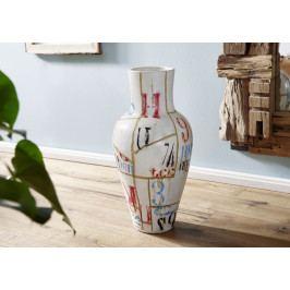 Bighome - DEKOR Váza 80 cm, viacfarebná