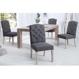 Bighome - Jedálenská stolička KASTLE - šedá