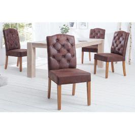 Bighome - Jedálenská stolička KASTLE - hnedá