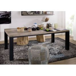 Bighome - TIROL Jedálenský stôl 200x100 cm, svetlohnedá, dub