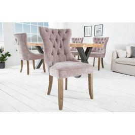 Bighome - Jedálenská stolička KASTLE - sivá