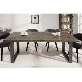 Bighome - Jedálenský stôl IRONIC 200 cm - sivá