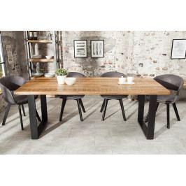 Bighome - Jedálenský stôl IRONIC 200 cm - prírodná