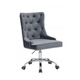 Bighome - Kancelárska stolička VICTORY - sivá
