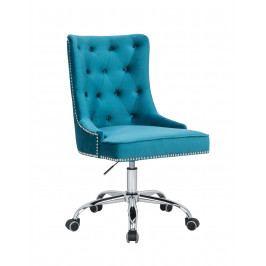 Bighome - Kancelárska stolička VICTORY - tyrkysová