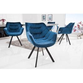 Bighome - Stolička HOLLAND - modrá