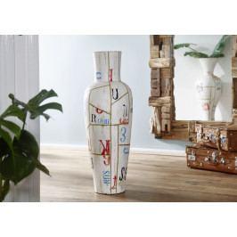 Bighome - DEKOR II. Váza 100 cm, viacfarebná