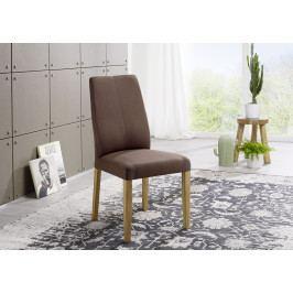 Bighome - VIENNA Jedálenská stolička, tmavohnedá