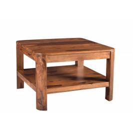 Bighome - MONTREAL Konferenčný stolík 70x70 cm, hnedá, palisander
