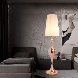 Bighome - Stojaca lampa LUCIA 160 cm - zlatá