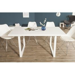 Bighome - Jedálenský stôl COLONADA II. 160 cm - biela