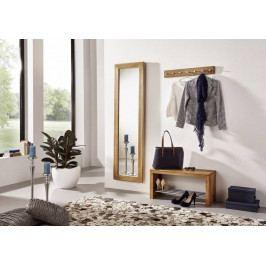 Bighome - VIENNA Zrkadlo 175x50 cm, dub