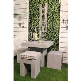 Stôl SOLID - sivá