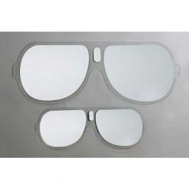 Zrkadlo SUNGLASSES L - sivá