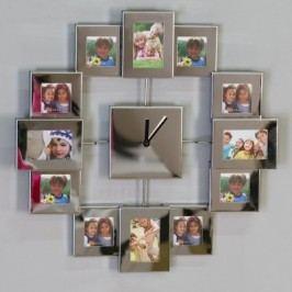 Nástenné hodiny PICTURES - strieborná