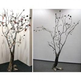 Dekoratívny strom PORLA - strieborná