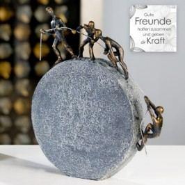 Socha LIFTING - bronzová