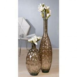 Dekoratívna váza AURA S - hnedá