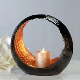Svietnik - antracitová/oranžová