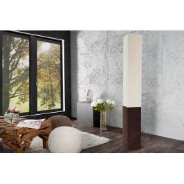 Stojaca lampa PARIS CLASSIC - krémová/hnedá