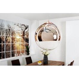 Lampa GLOBAL 30 cm - medená