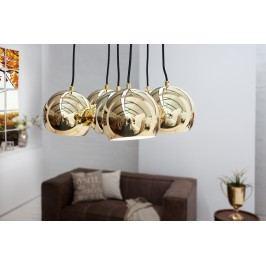 Lampa PERL GOLD - zlatá