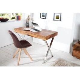 Písací stôl BRACE 120 cm - indický palisander