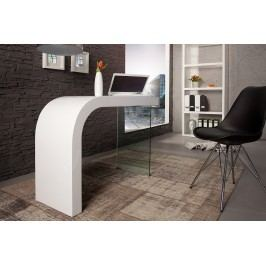 Písací stôl ONIE 120 cm - biela