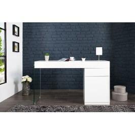 Písací stôl FLOAT 120 cm - biela