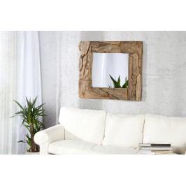 Zrkadlo SANDY 50 cm - hnedá