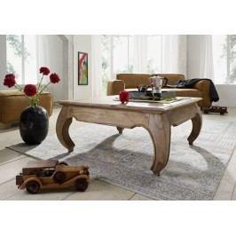 ORIENT konferenčný stolík indický palisander, svetlá 60x60cm