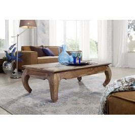ORIENT Konferenčný stolík, indický palisander, svetlý lak