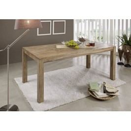 NATURAL jedálenský stôl 220x100 prírodný olejovaný indický palisander
