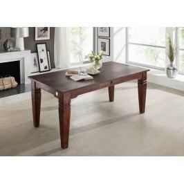 SUNO Koloniálny jedálenský stôl 180x90 masívny akáciový nábytok