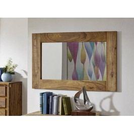 Sheesham zrkadlo, masívne palisandrové drevo #841