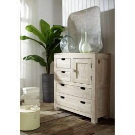 skrinka maľovaný akáciový nábytok