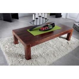 CUBUS  Koloniálny konferenčný stolík 80x75 masívny akáciový nábytok