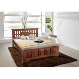 CLASSIC  Koloniálna posteľ 180x200 masívny akáciový nábytok