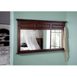 Koloniálne zrkadlo, masívny akáciový nábytok
