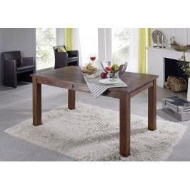 Koloniálny jedálenský stôl 120x85 masívna akácia