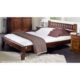 Koloniálna posteľ 120x200 masívne akáciové drevo