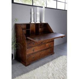 Koloniálna komoda, masívny akáciový nábytok