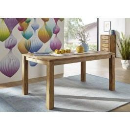 Sheesham jedálenský stôl 160x90, masívne palisandrové drevo