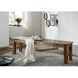 OLDTIME lavica - 200cm lakované staré indické drevo