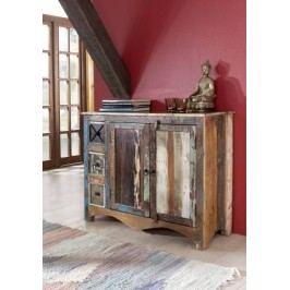 OLDTIME komoda lakované staré indické drevo