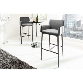 Bighome - Barová stolička ITALY - sivá