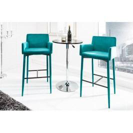 Bighome - Barová stolička ITALY - aquamarínová