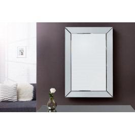 Bighome - Zrkadlo GERALT 90x60 cm - strieborná II.akosť