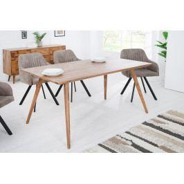 Bighome - Jedálenský stôl MOZAIKA 160 cm - prírodná II.akosť