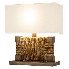 Bighome - Stolná lampa PURE NATUR III. - prírodná